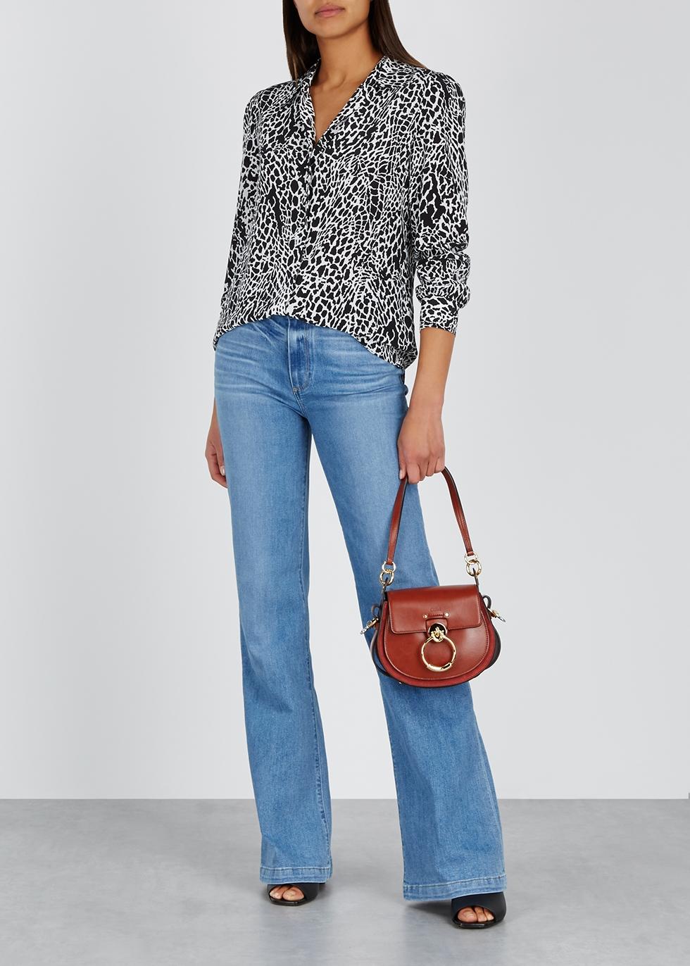 Genevive light blue flared jeans - Paige