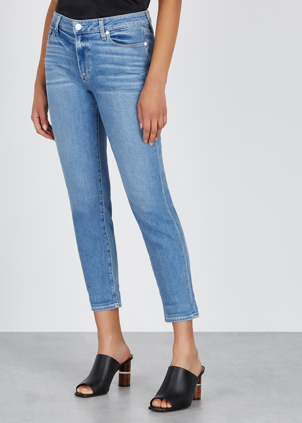 Bridgette blue skinny boyfriend jeans - Paige