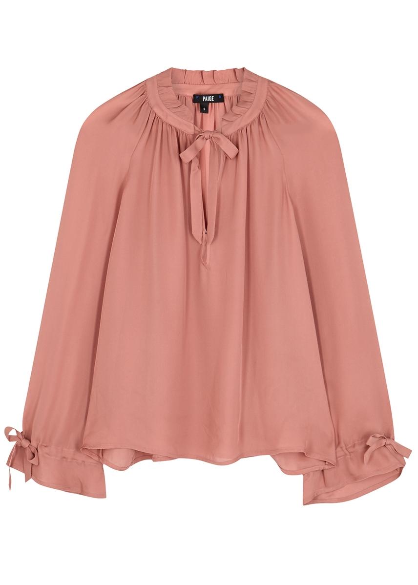 5367443cc1a7f Women s Designer Blouses - Silk
