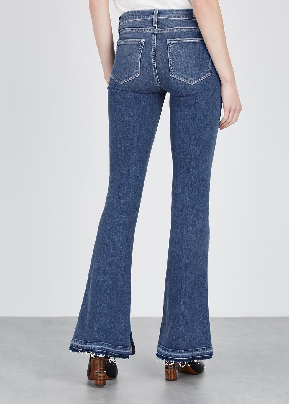 Lou Lou light blue flared jeans - Paige