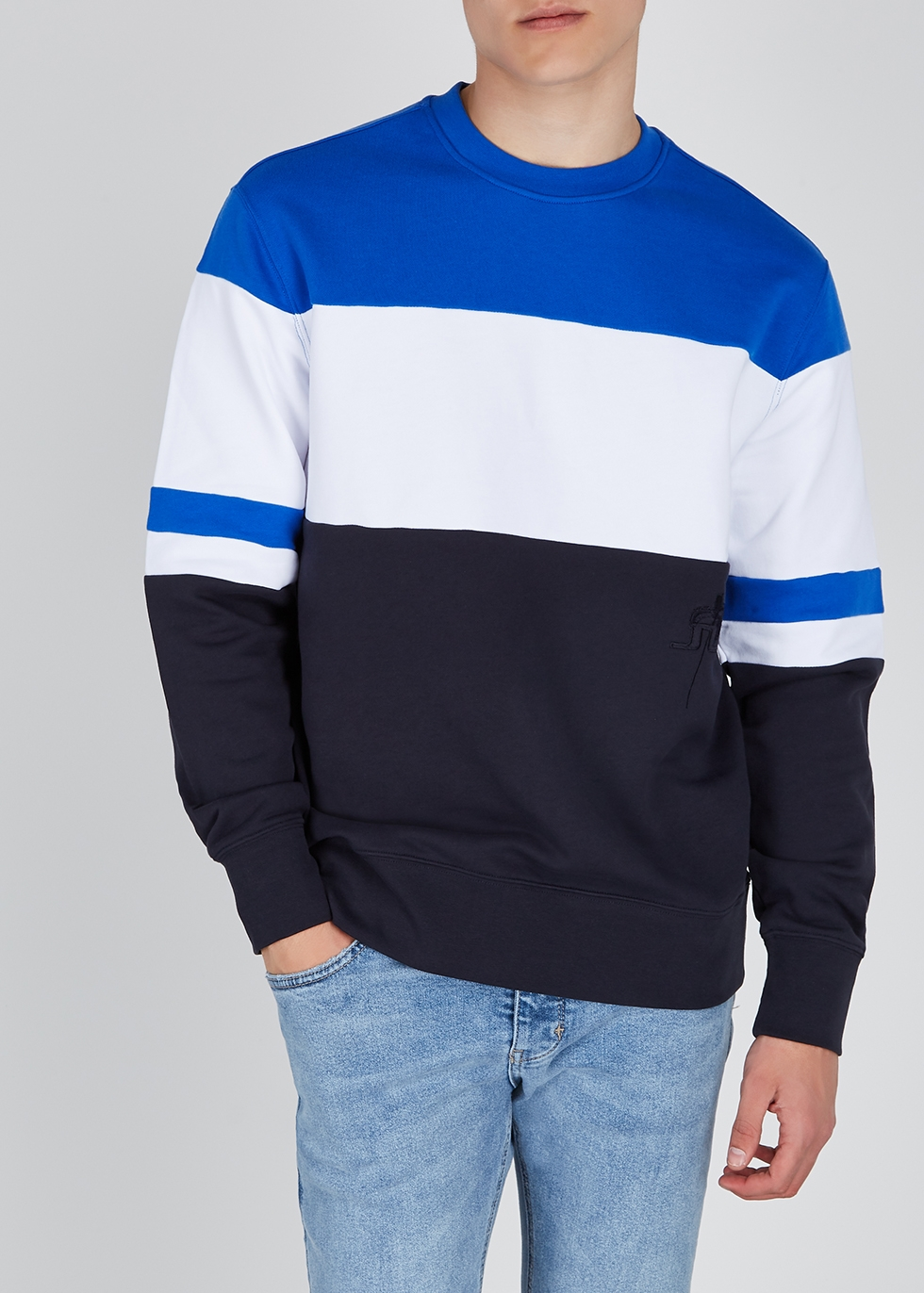 Hurl panelled cotton sweatshirt - J.Lindeberg