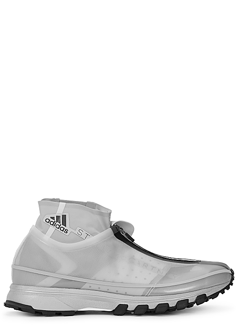 the latest 1513e 6ea69 adidas X Stella McCartney Adizero XT grey mesh sneakers ...
