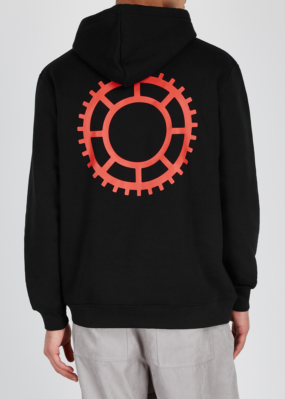 Omen printed cotton sweatshirt - 032c