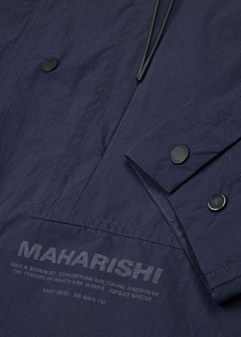 Onibegie navy shell overshirt - maharishi