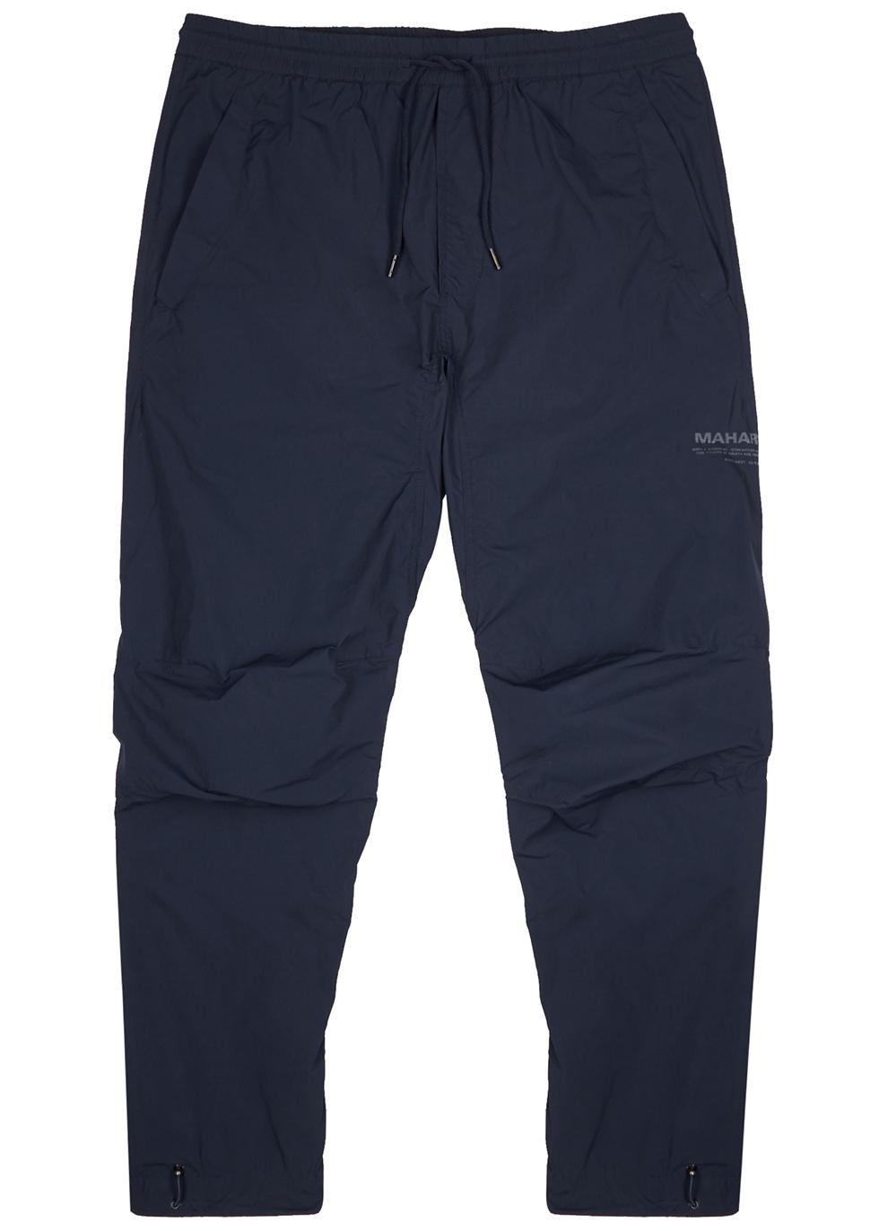 Onibegie navy shell sweatpants - maharishi