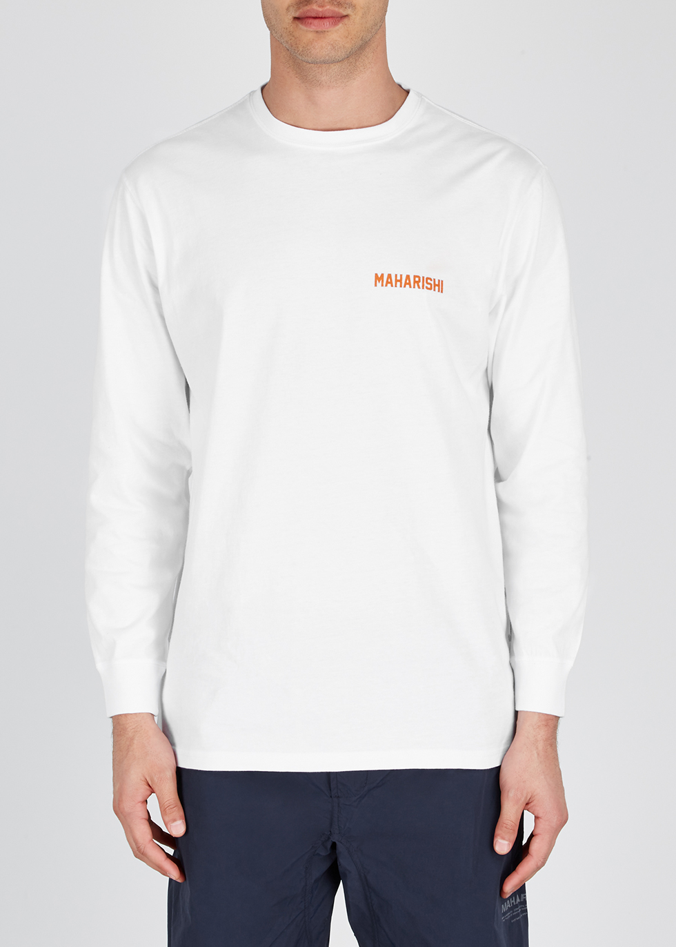 Wise Tygers white organic cotton top - maharishi