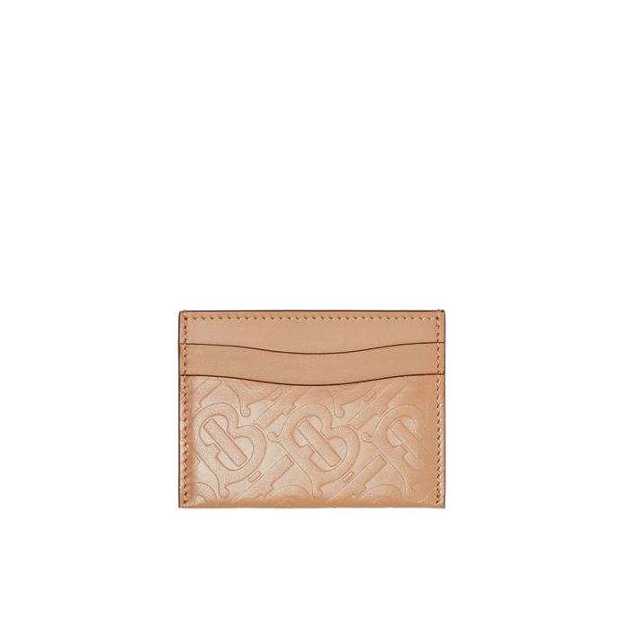 Burberry Monogram Leather Card Case