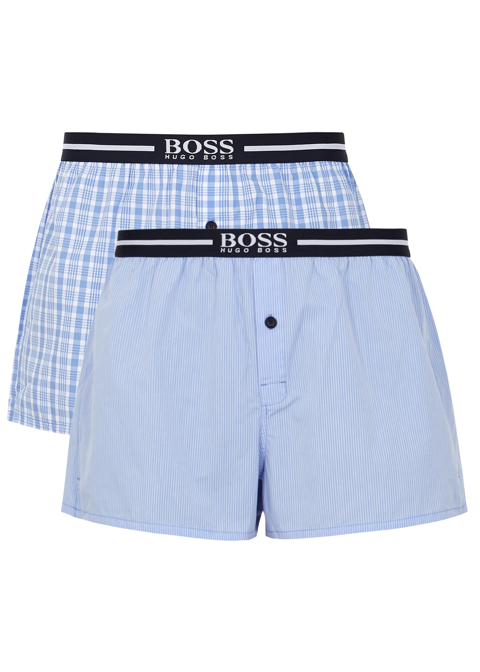 Cotton boxer shorts - set of two