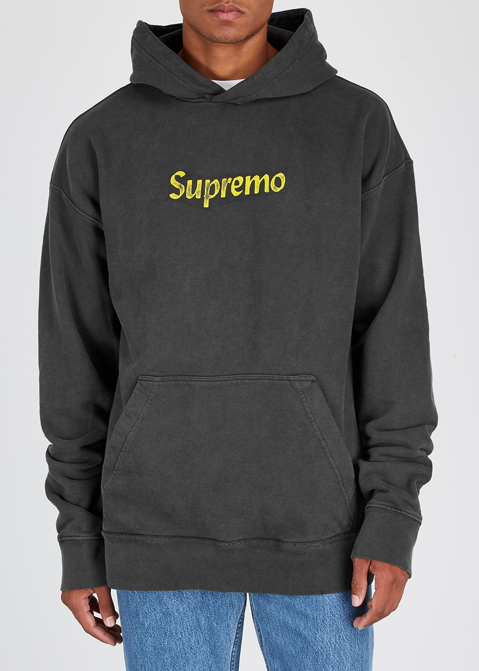 Supremo printed cotton sweatshirt - RHUDE