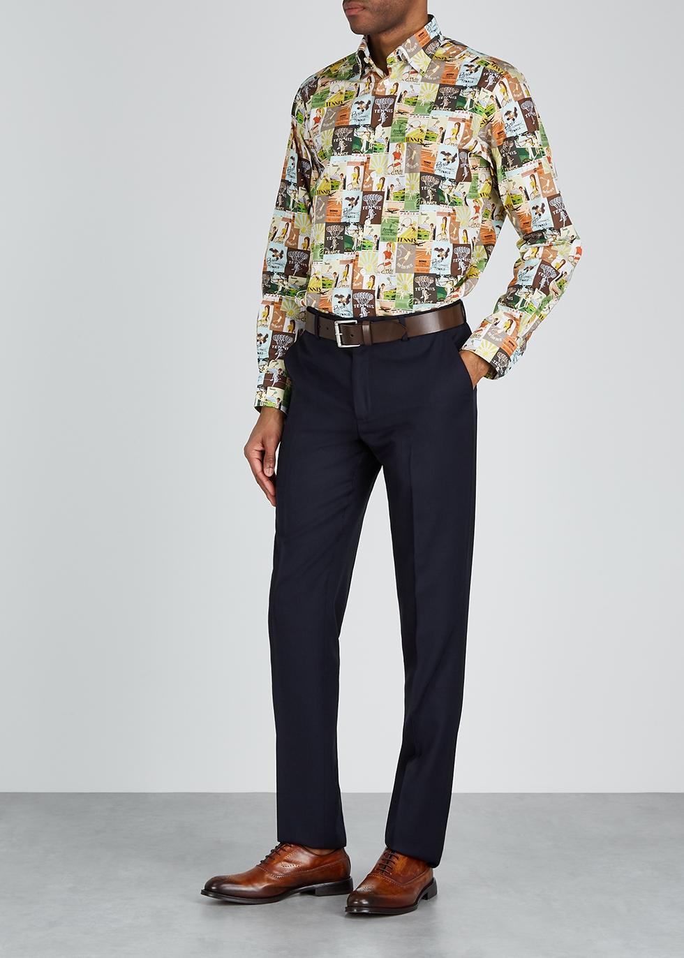 Eton printed cotton shirt - Eton
