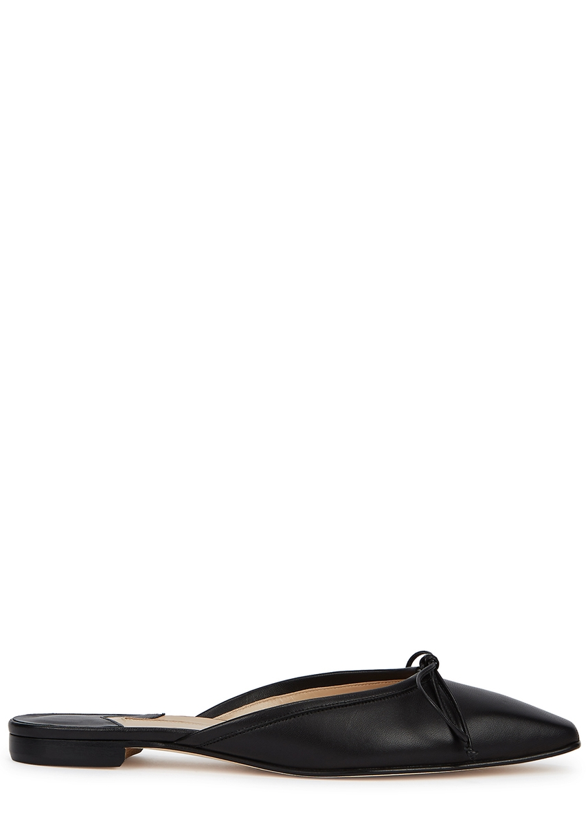 061ef377077 Ballerimu black leather mules ...