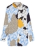 Cologne floral-print satin shirt - BY MALENE BIRGER