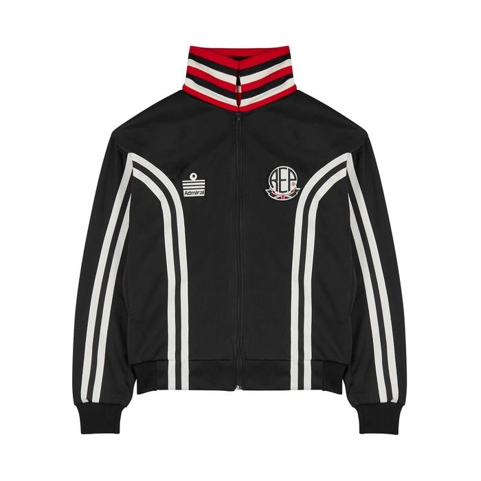 Represent X Admiral Black Jersey Sweatshirt
