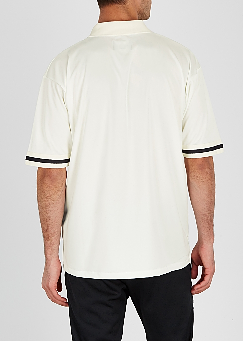 a80b3fca Represent Off-white logo embroidered polo shirt - Harvey Nichols