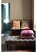 Mustard slick marbled cushion - Susi Bellamy