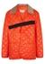 Orange quilted shell jacket - Maison Margiela