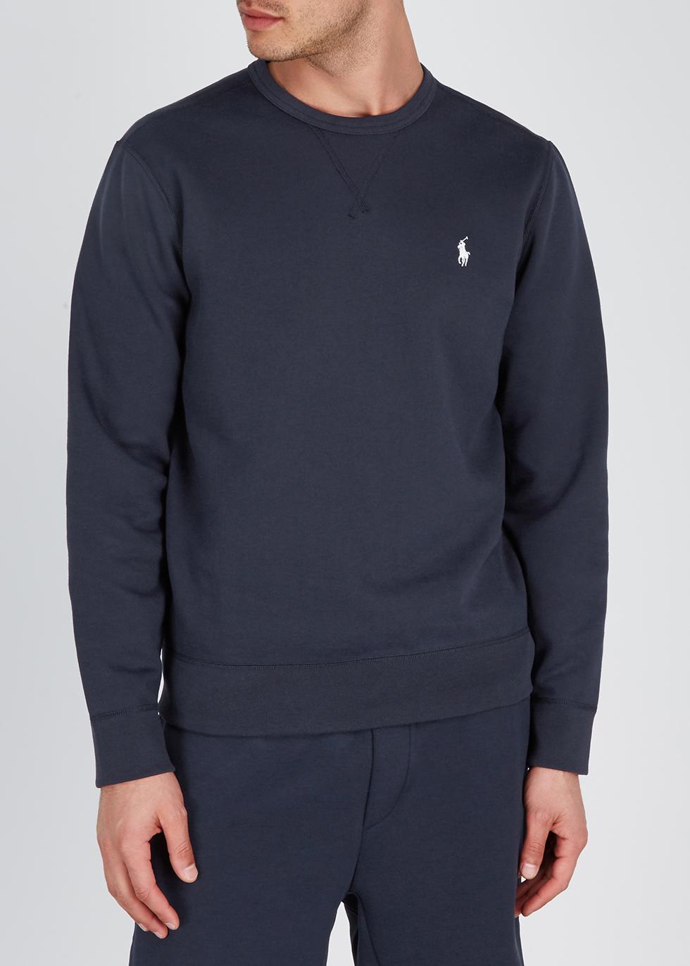 Performance navy jersey sweatshirt - Polo Ralph Lauren