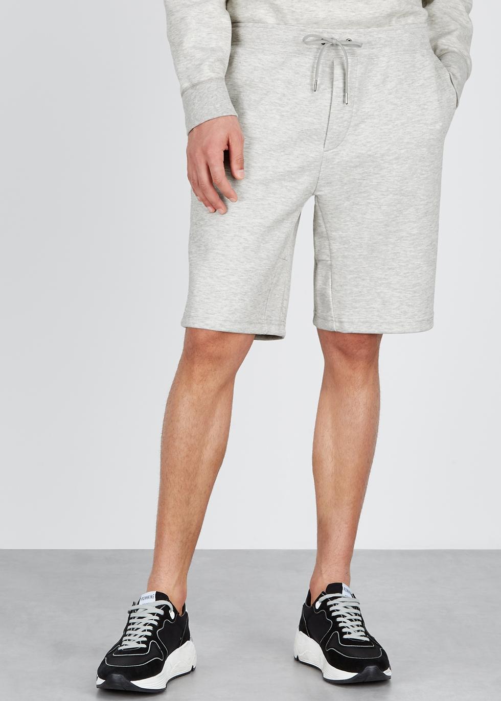 Performance grey melangé jersey shorts - Polo Ralph Lauren