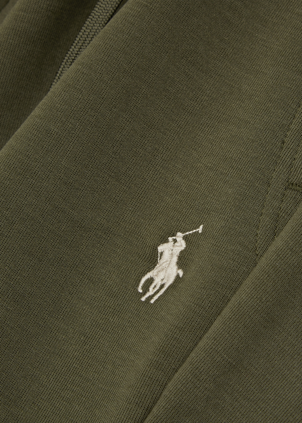 Performance olive jersey shorts - Polo Ralph Lauren