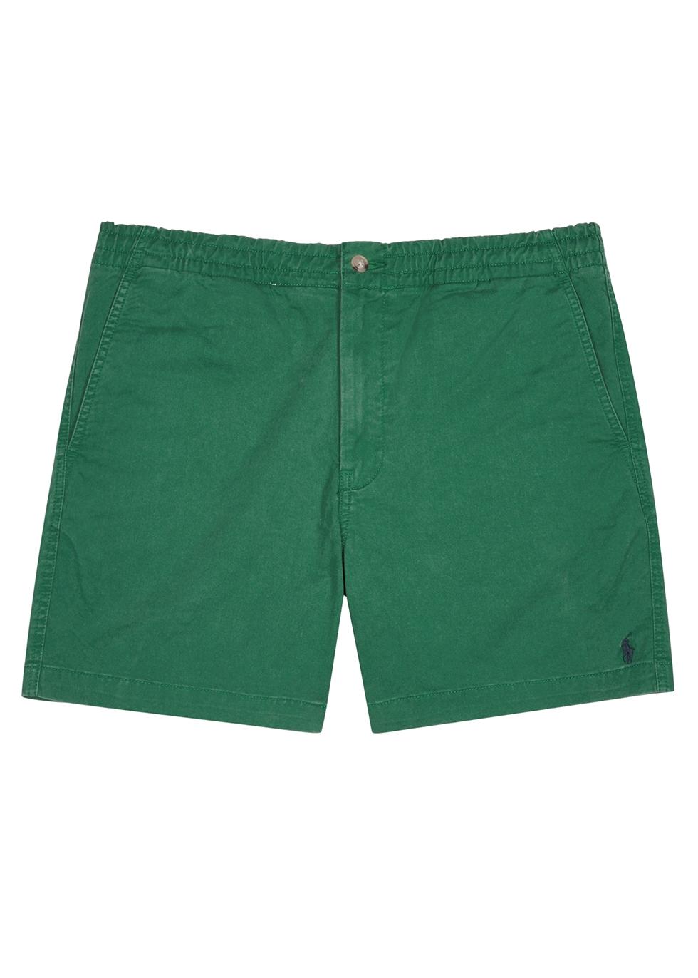 Green stretch-cotton shorts - Polo Ralph Lauren