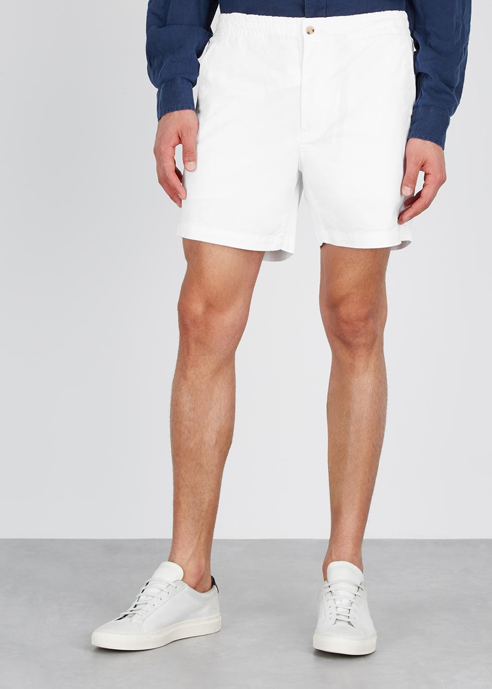 White stretch-cotton shorts - Polo Ralph Lauren