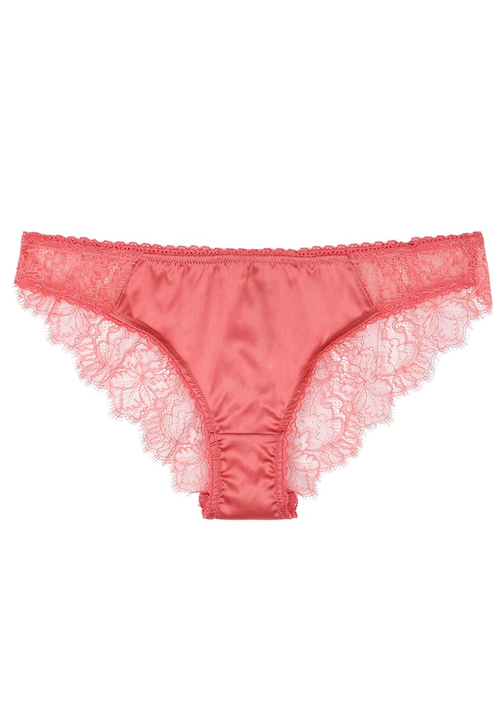 Gigi Giggling pink lace briefs - Stella McCartney