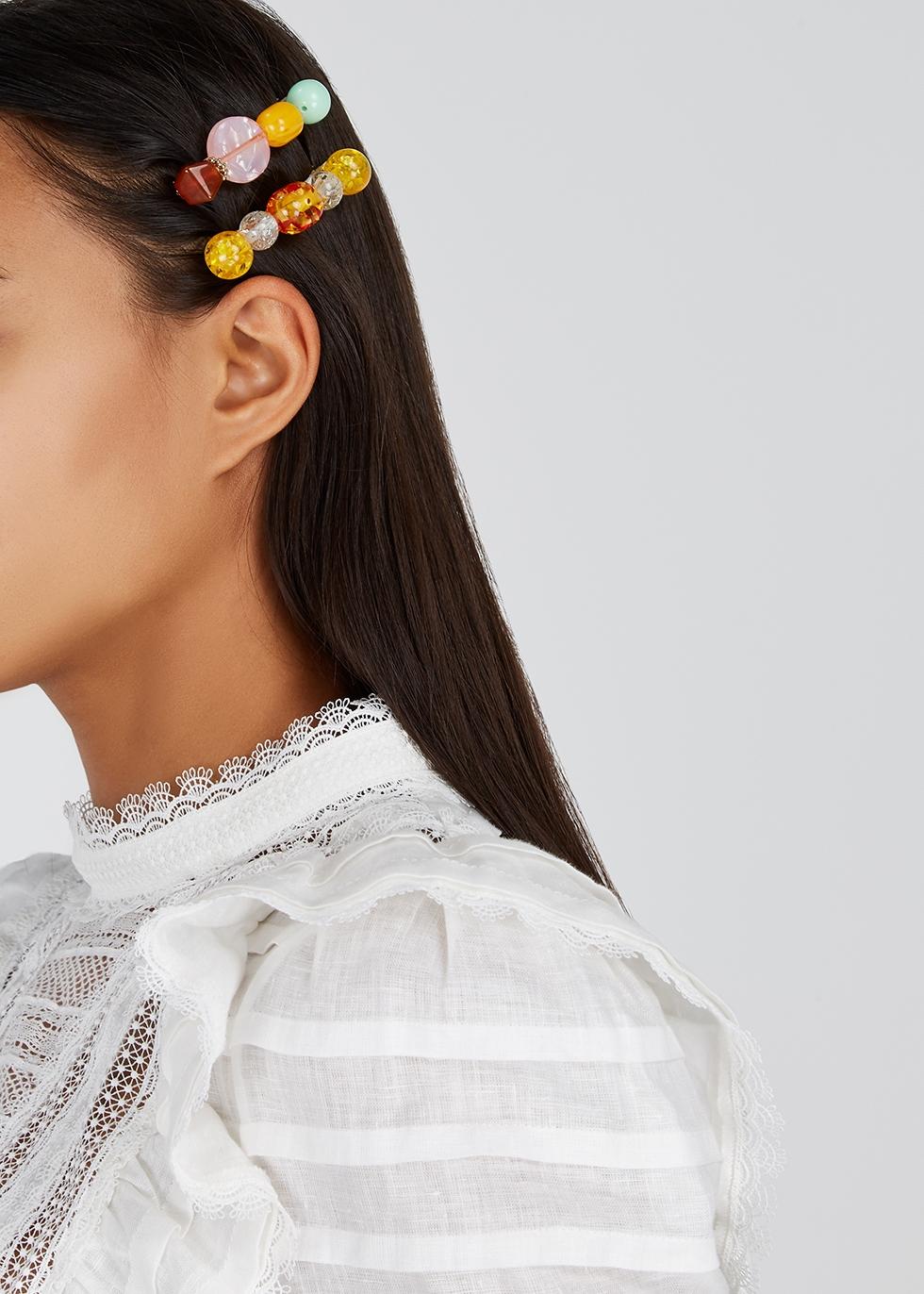 Lulu hair clips - set of two - Valet Studio