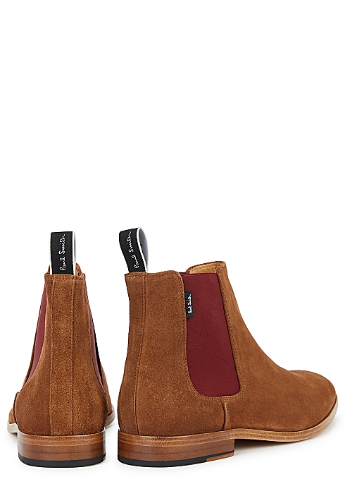new styles super cheap compares to huge inventory Paul Smith Gerald brown suede Chelsea boots - Harvey Nichols