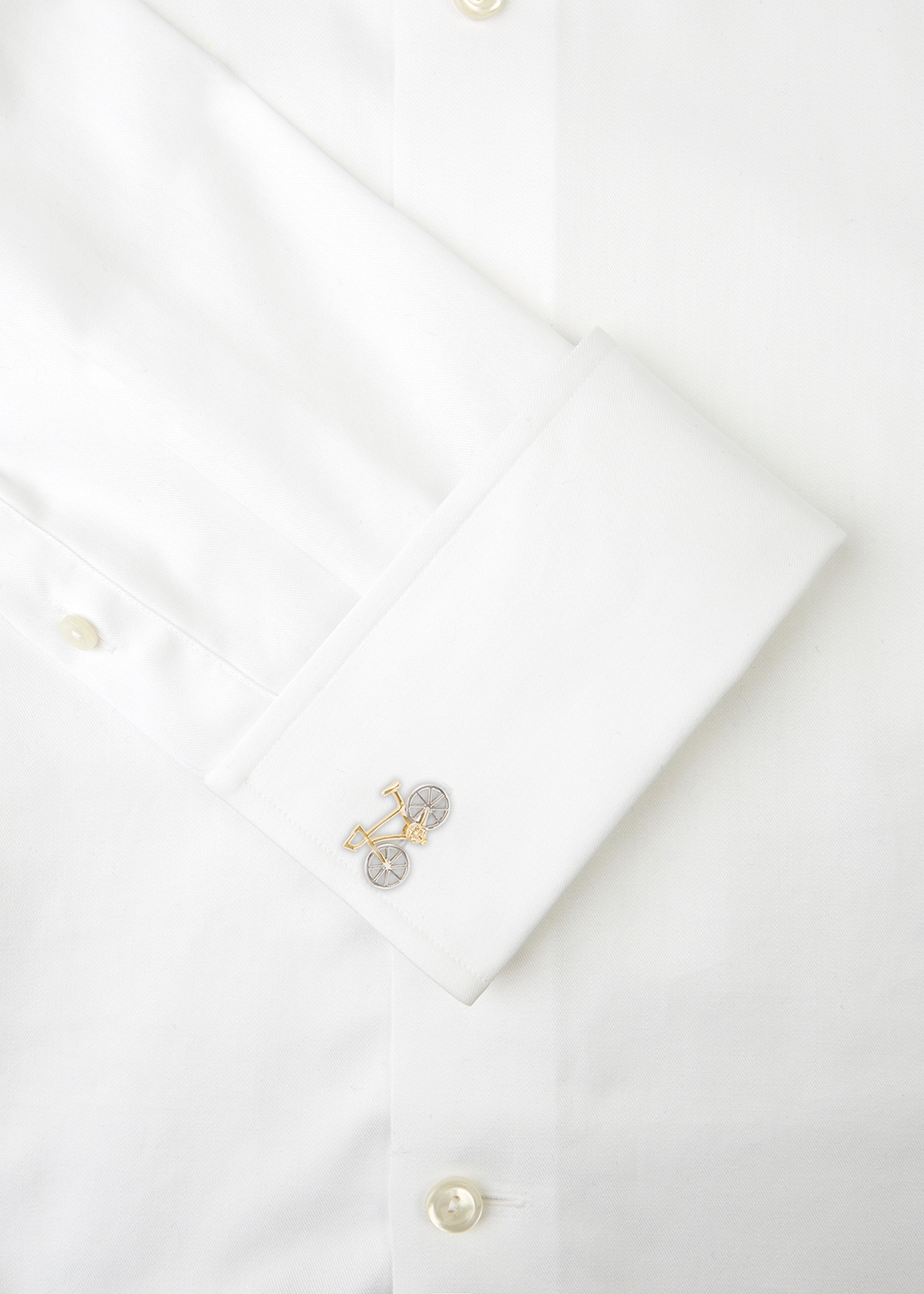 Bicycle gold-tone cufflinks - Paul Smith