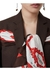 Silk scarf detail wool tailored jacket - Burberry