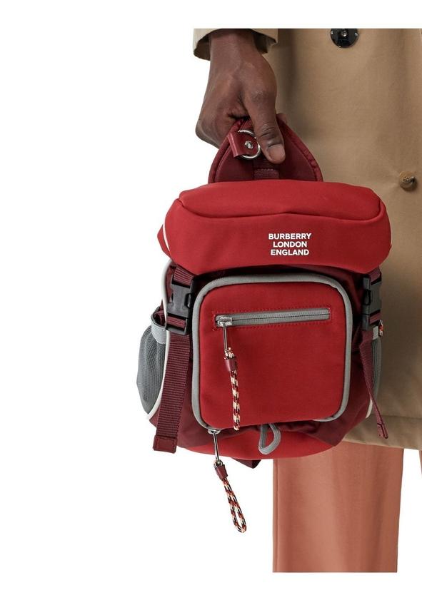 ... Logo print nylon leo belt pack 8408bc61f0