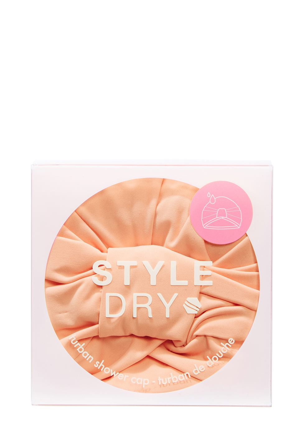 Turban Shower Cap - That's Peachy