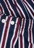 Navy cotton boxer shorts - Derek Rose