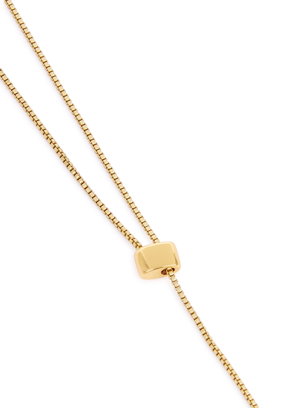 Trust 14kt gold-dipped necklace - JENNY BIRD