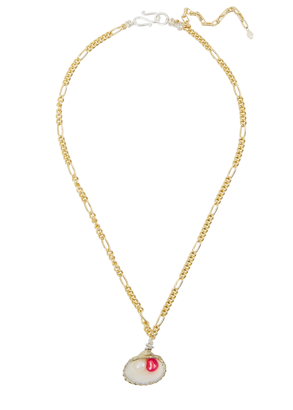 Drop It Like It's Hot gold-plated necklace - WALD Berlin