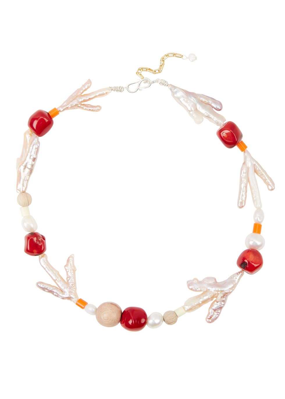 Et Moi beaded necklace - WALD Berlin