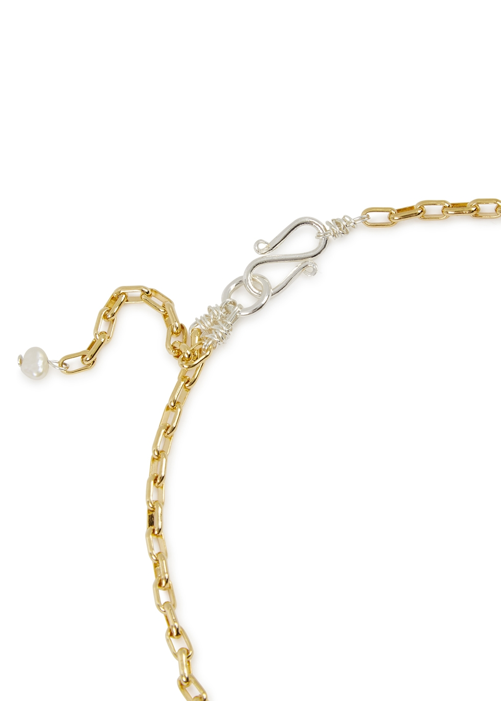 La Rêve gold-plated necklace - WALD Berlin