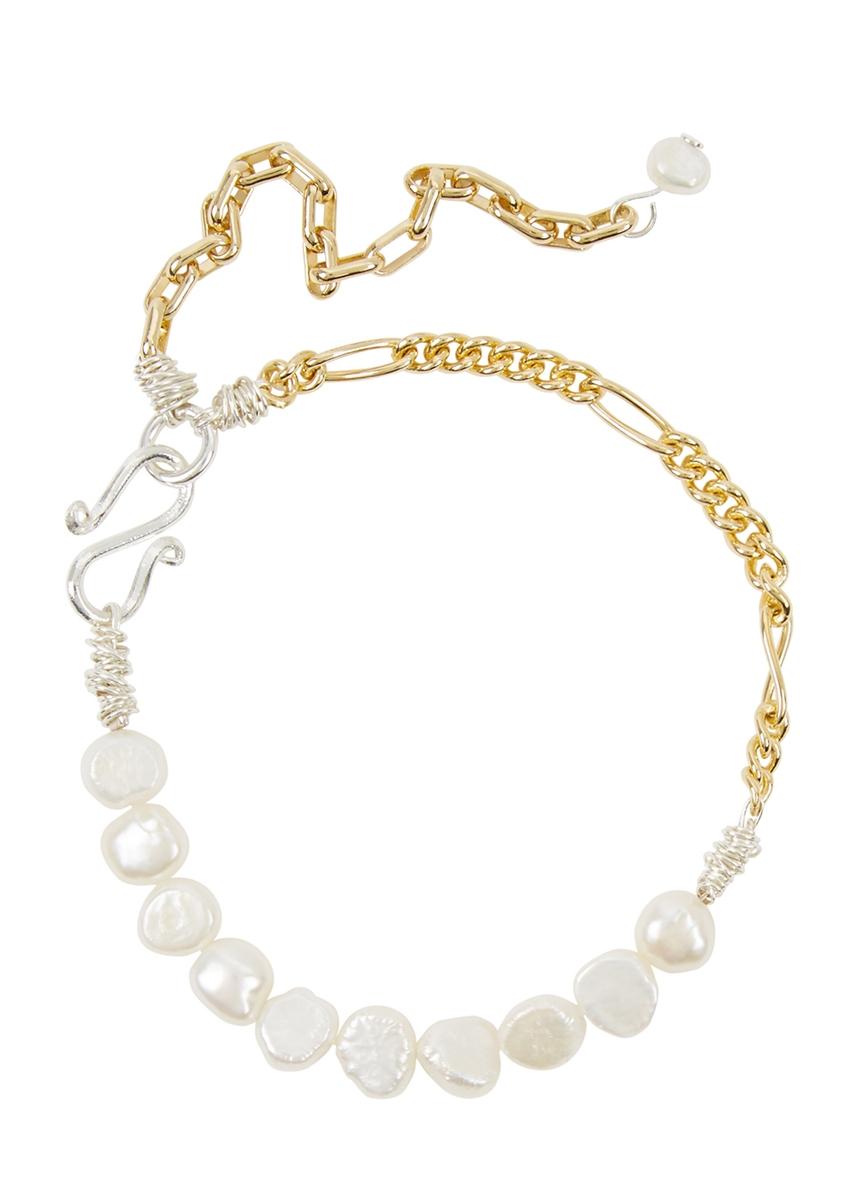 bf5e2198295d La Vie En Rose pearl gold-plated bracelet ...