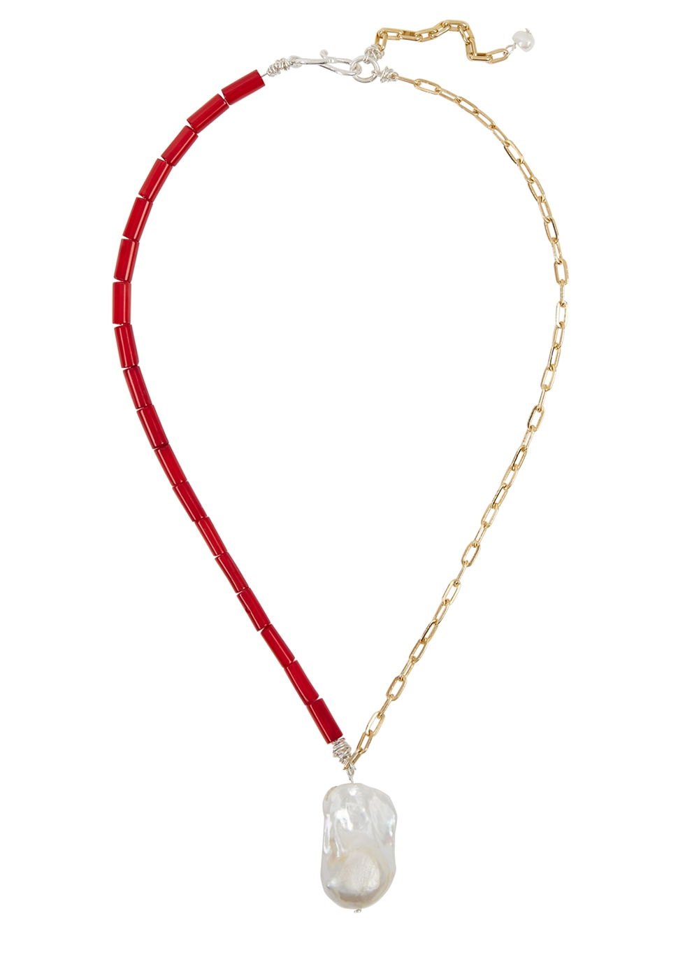 Voyage 18kt gold-plated necklace - WALD Berlin