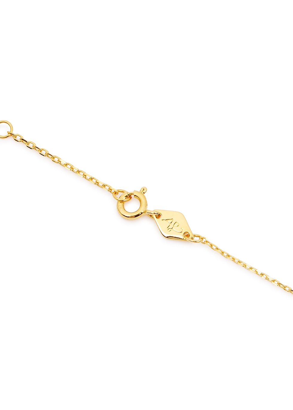 Baroque 18kt gold-plated necklace - ANNI LU