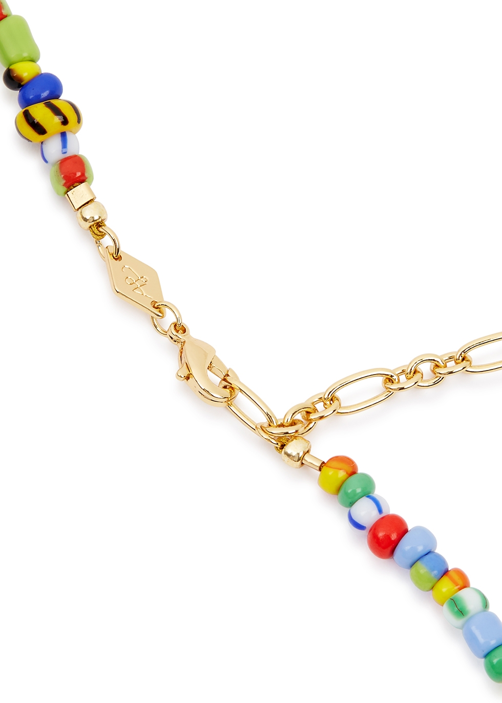 Alaia Baroque 18kt gold-plated necklace - ANNI LU