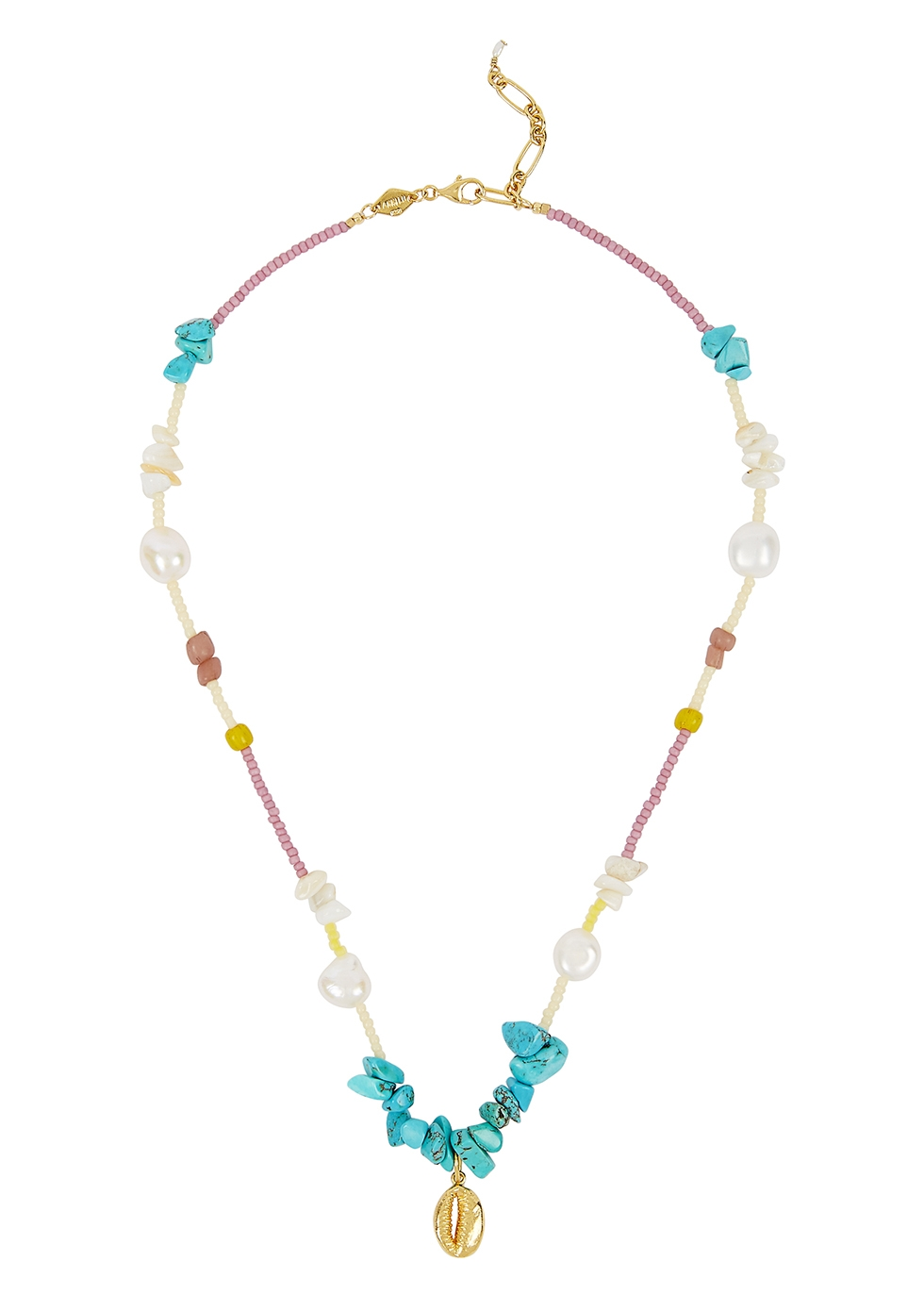 Bounty 18kt gold-plated necklace - ANNI LU