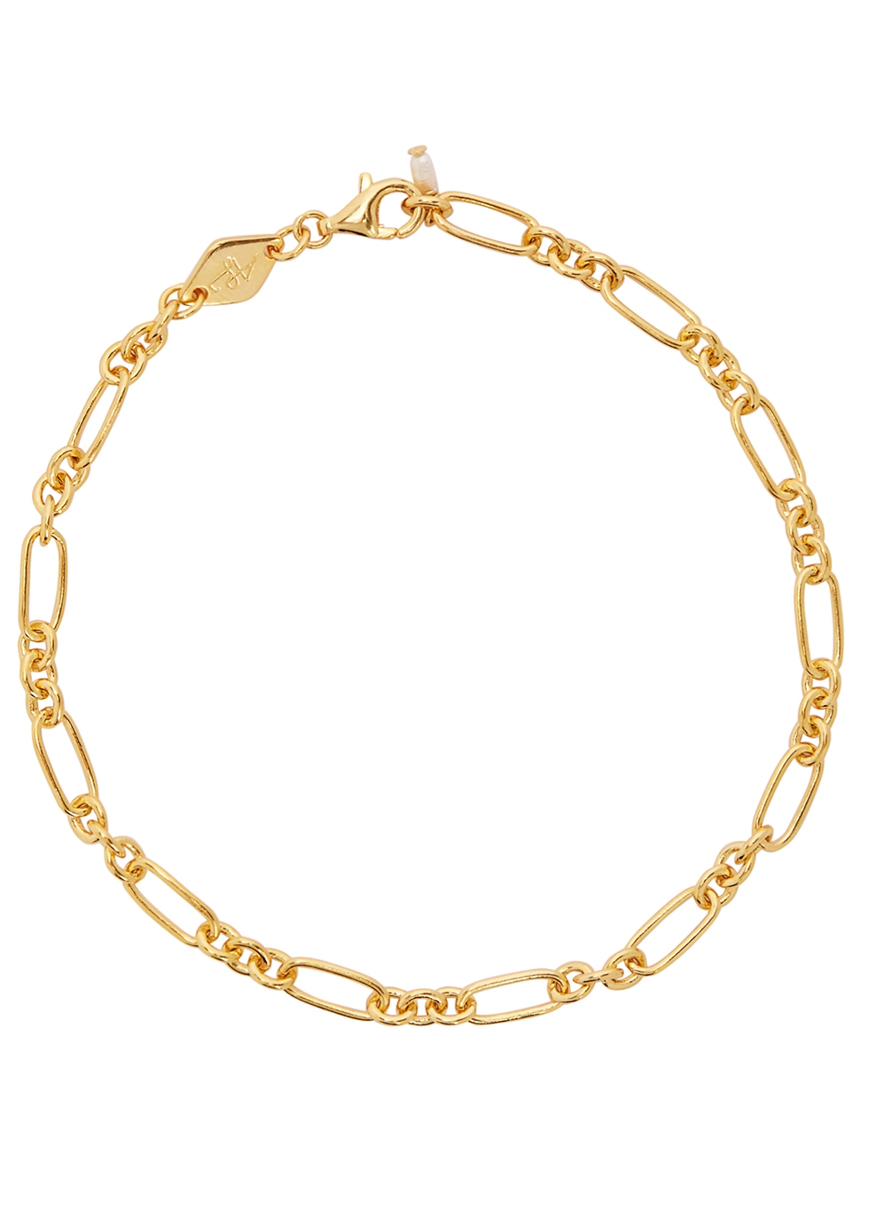 Lynx 18kt gold-plated bracelet - ANNI LU