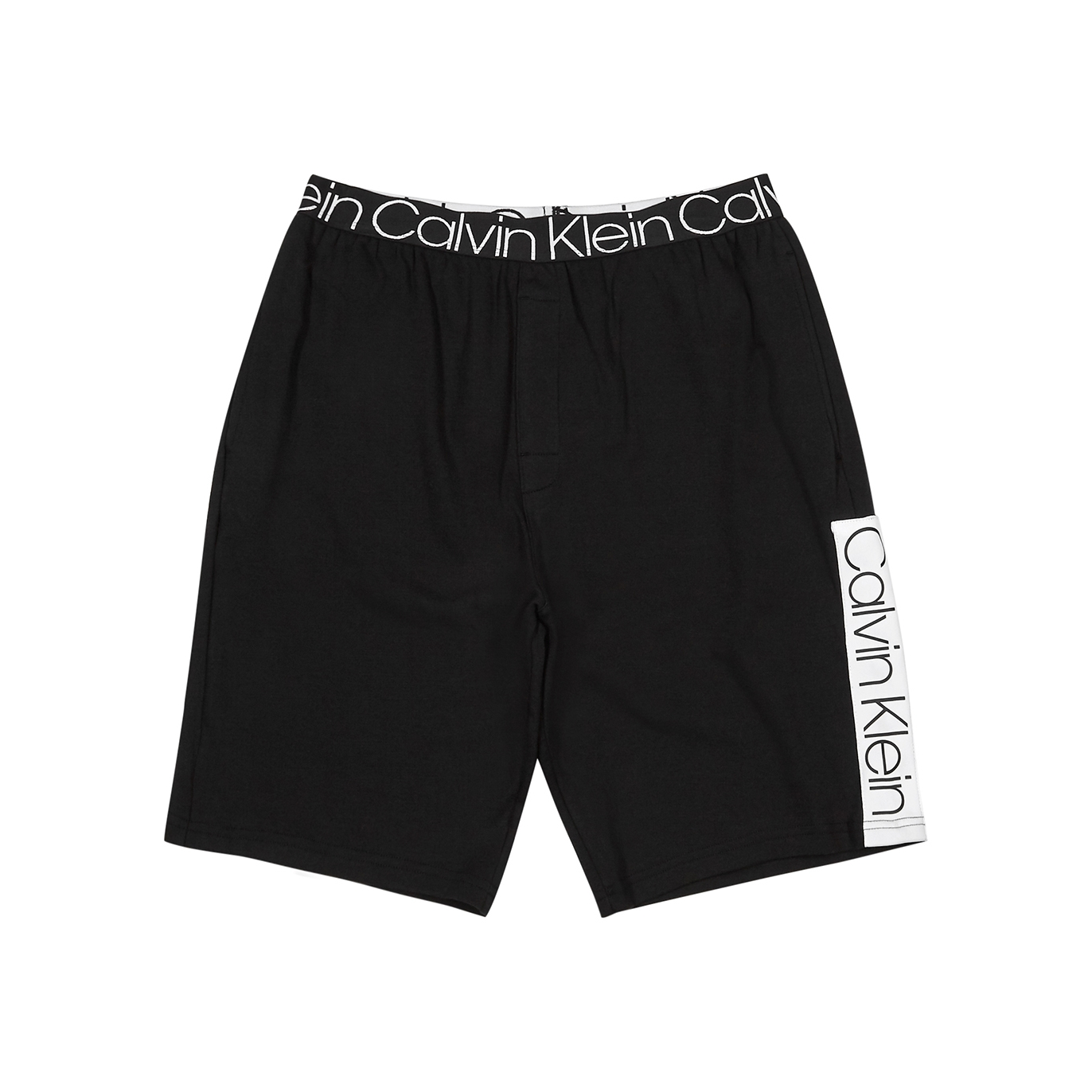promo code b8351 e0f8e Black logo cotton shorts