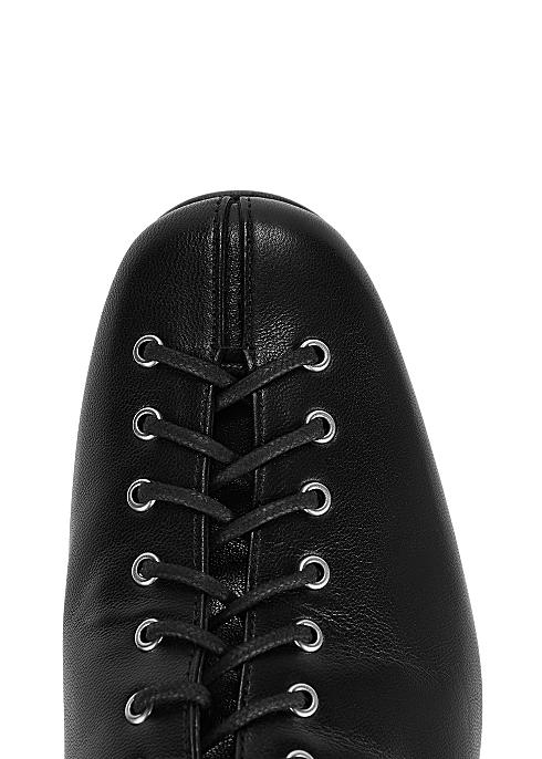 b1848d50cf5 BY FAR Becca 65 black leather ankle boots - Harvey Nichols