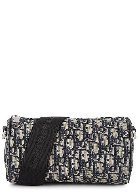 62464f4642 Dior Homme Oblique logo canvas cross-body bag - Harvey Nichols