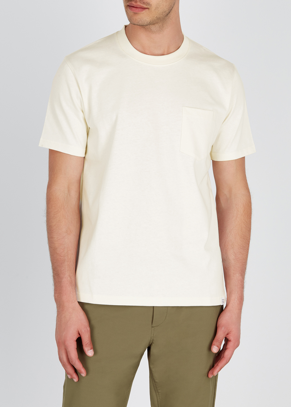 Johannes white cotton T-shirt - Norse Projects