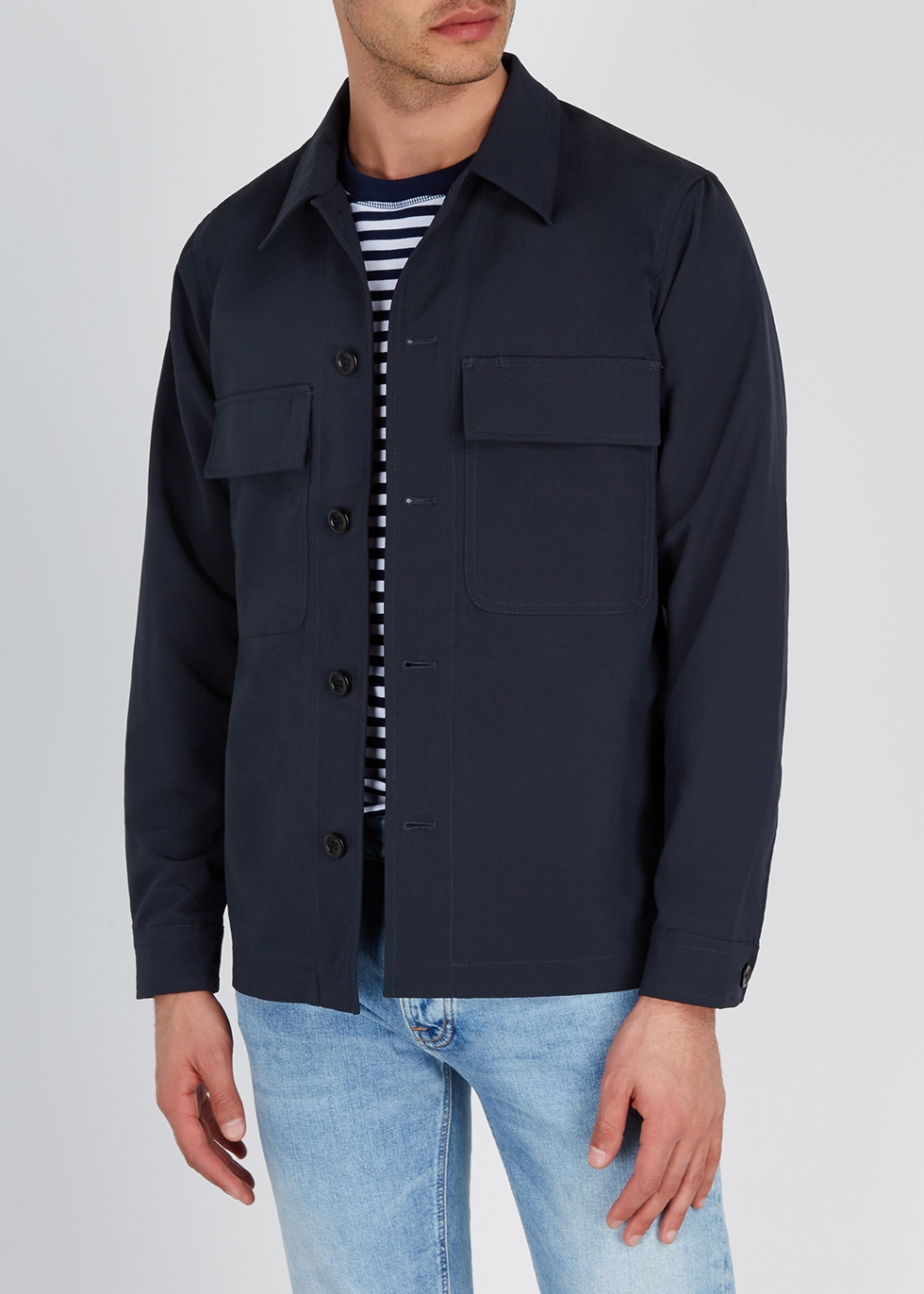 Kyle navy shell jacket - Norse Projects
