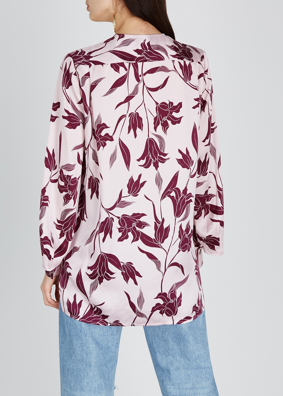 Delainey floral-print silk blouse - Equipment
