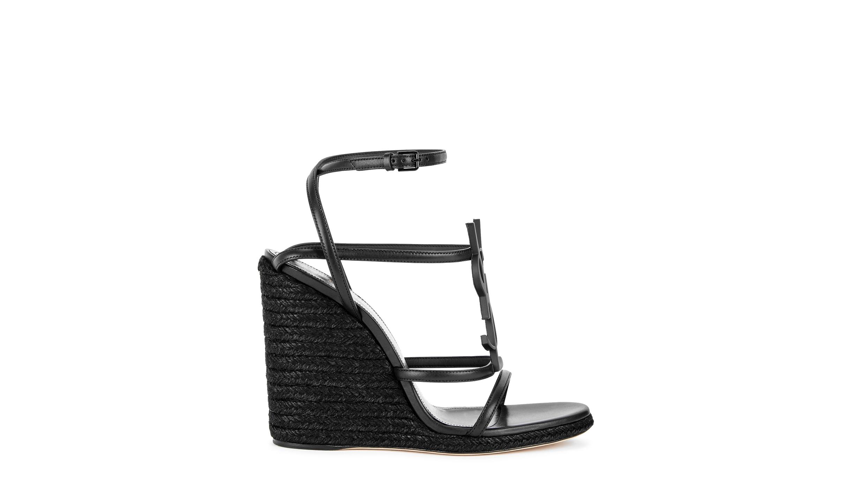 368c5c132d0 Cassandra 105 black leather sandals